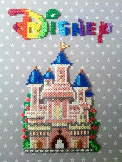 Hama Beads Disney princess