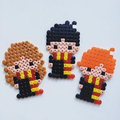 Hama Beads Harry Potter Pattern