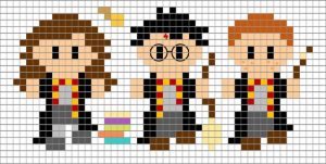 Hama BEads mini harry potter