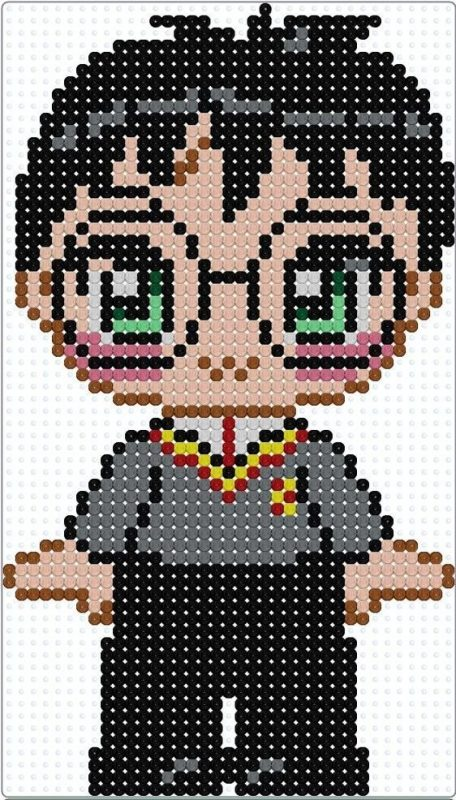 Hama beads Harry Potter Bookmark