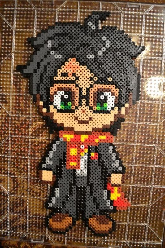 Hama Beads patterns Harry Potter