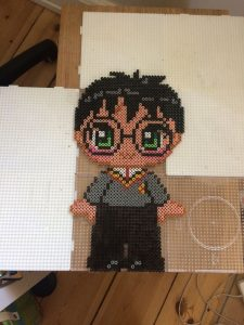 harry potter hama beads easy