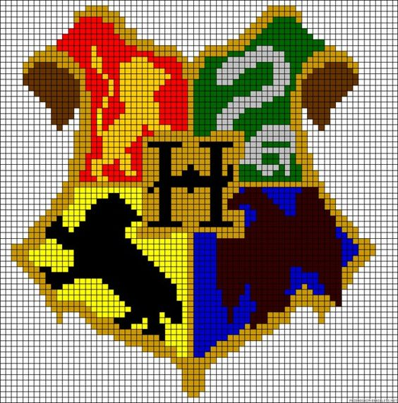 Hama Beads Harry Potter 3D