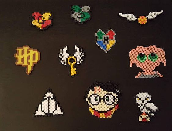 Hama Beads Harry Potter perler