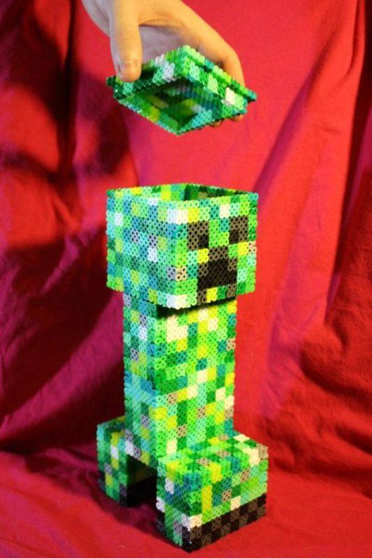 hama beads mincecraft mobs