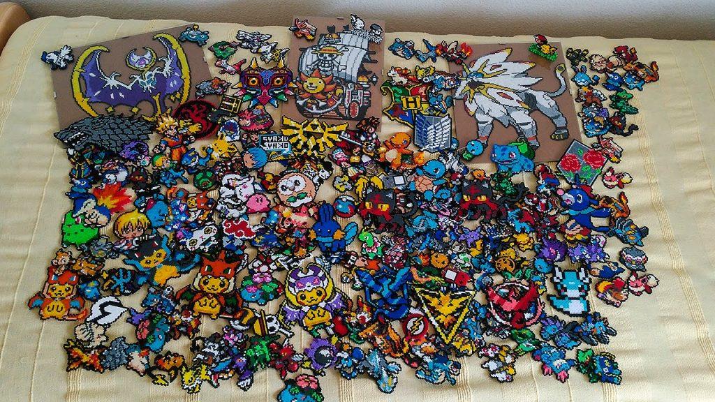 Hama beads pokemon legendarios
