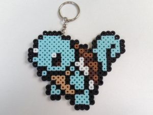 Hama beads pokemon llavero