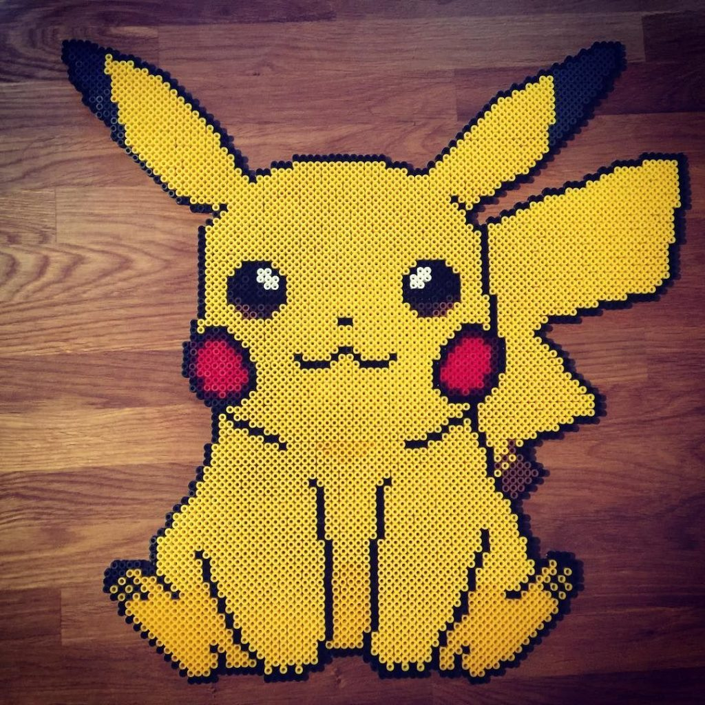 Hama beads pokemon legendario