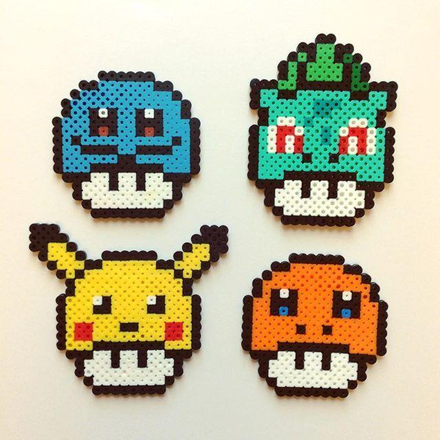 hama beads pokemon legendario