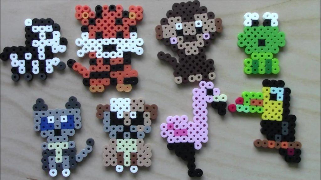 Hama Beads animales marinos