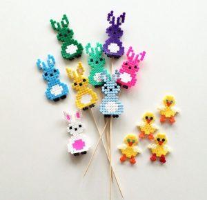 Hama Beads animales kawaii