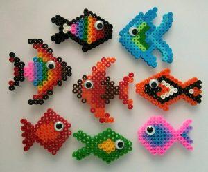 Hama Beads mini kawaii
