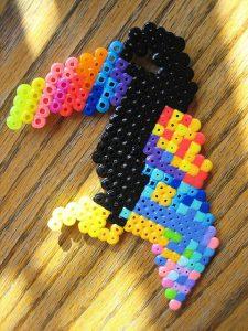 Hama Beads Minions pequeños