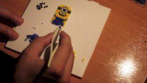 Hama Beads Minions bob