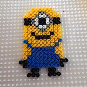 Hama Beads Minions 3d