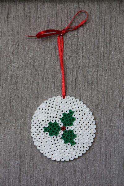hama beads navidad faciles