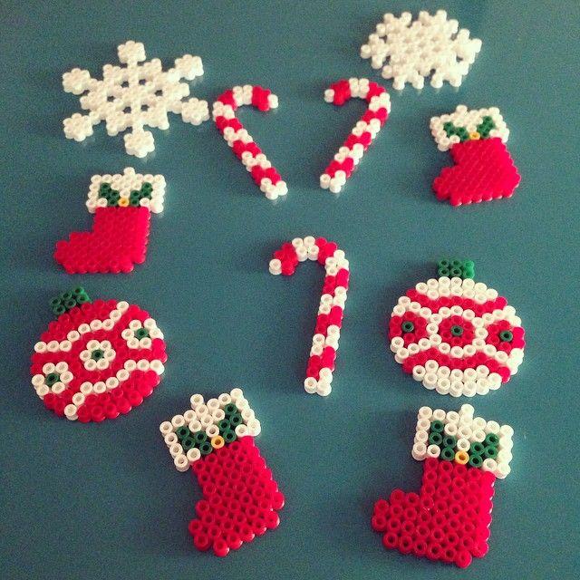 Hama Beads navidad pinteres