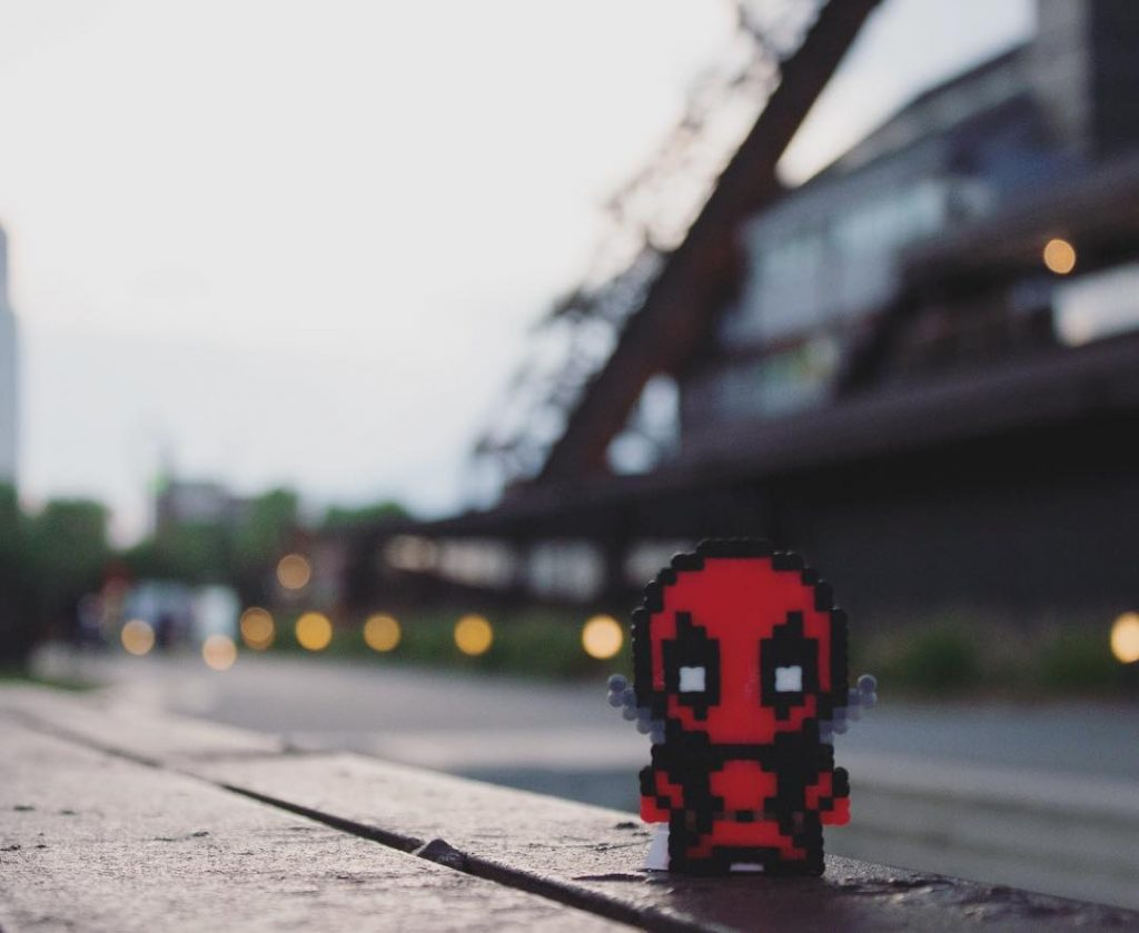 Hama beads patrones marvel