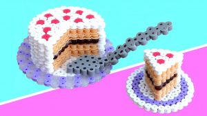 Hama Beads 3d kawaii