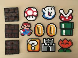 Hama Beads Mario Bross