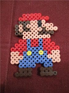 Hama Beads Mario Bros Bross