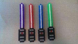 Hama Beads Star Wars yoda
