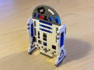 Hama Beads Star Wars r2d2