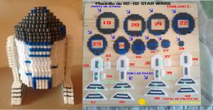Hama Beads Star Wars darth maul