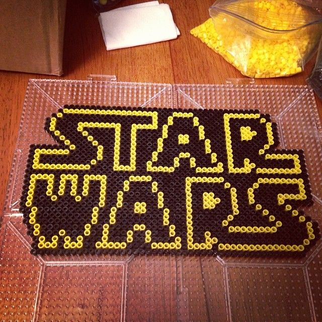 Hama beads star wars 3d