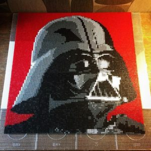 Hama beads Star war 3d