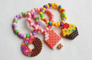 hama beads kawaii food