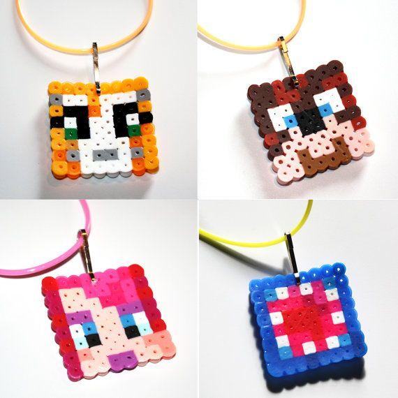 Hama beads minecraft 3d